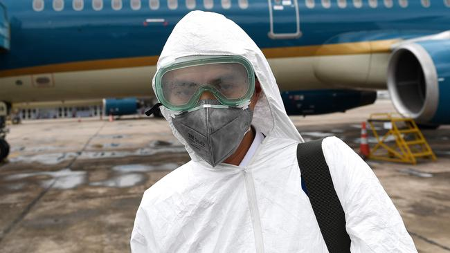 The travel industry has faced shocks before but nothing quite like the coronavirus. Picture: Nhac NGUYEN / AFP.