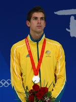 FILE 16 JULY 2014: Former Australian freestyle world record holder Eamon Sullivan has announced his retirement from competitive swimming due to ongoing concerns with his shoulder injury. Sullivan, 28, once held world records for the 50m and the 100m Freestyle. Hes competed in three Olympic Games, two Commonwealth Games and two World Championships throughout his career. BEIJING - AUGUST 14: Eamon Sullivan of Australia poses with the silver medal during the medal ceremony for the Men's 100m Freestyle held at the National Aquatics Centre during Day 6 of the Beijing 2008 Olympic Games on August 14, 2008 in Beijing, China. (Photo by Clive Brunskill/Getty Images)