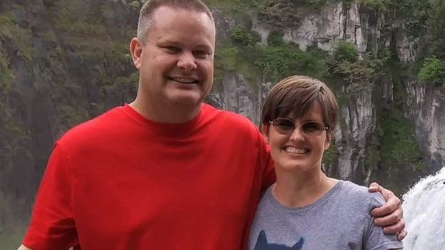 Chad Daybell reportedly told a friend he had visions of his wife, Tammy Daybell, dying. Picture: NBC News