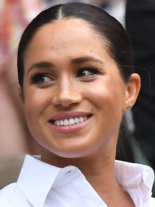 Meghan is living life in the spotlight, as her late mother-in-law did. Picture: AFP