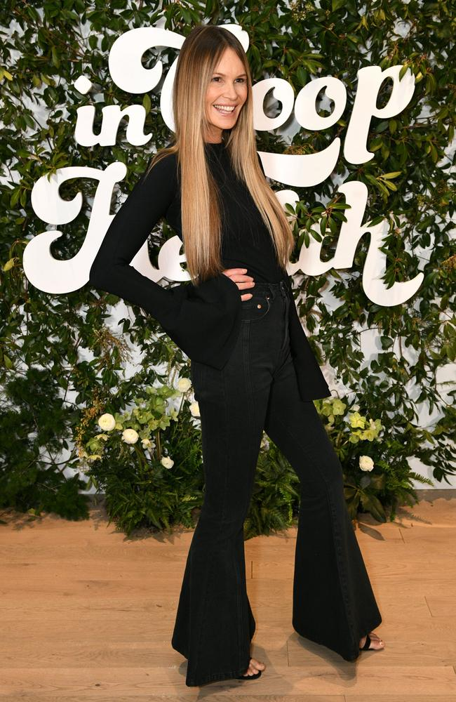 Elle Macpherson, pictured at Gwenyth Paltrow's In Goop Health summit, in New York in March. Picture: Getty Images