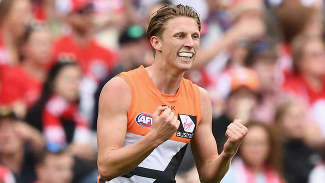 Lachie Whitfield has been suspended by the AFL.