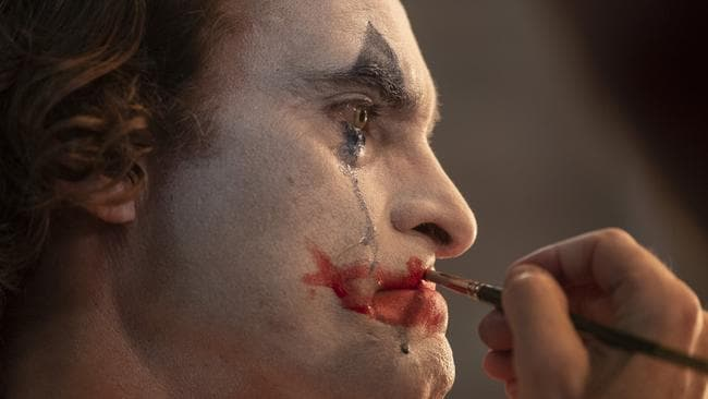 Joaquin Phoenix in a scene from Joker. Picture: AP.