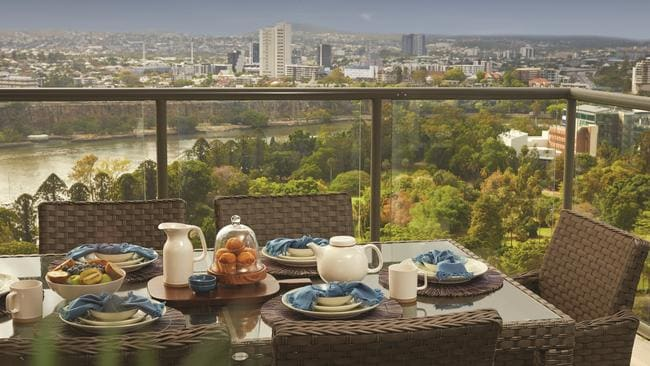 Have breakfast watching the city wake up from the 29th floor.