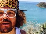 Redfoo: Took the bike to #westhead. Amazing! Picture: Instagram