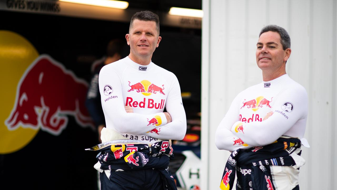 (L-R) Tander and Lowndes are on co-driving duties in 2019.