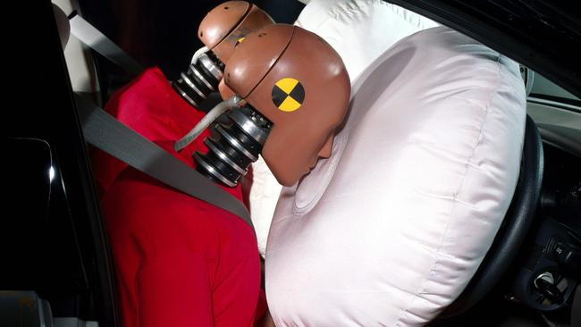 Roughly a million cars are fitted with faulty airbags. Pic: Supplied.