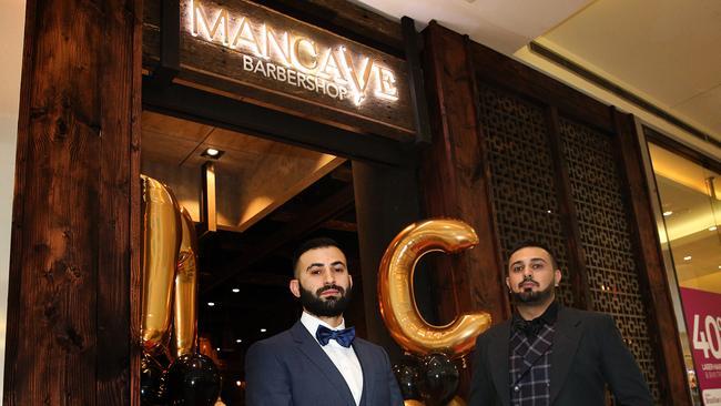 Man Cave Bondi : Mancave barber shop opens at westfield burwood with league