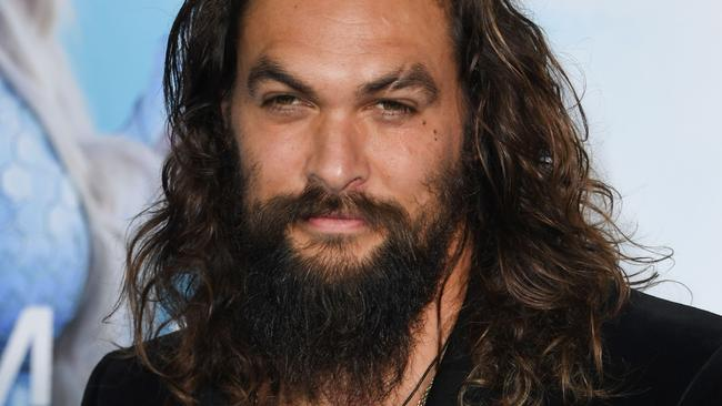Jason Momoa is set to play a blind warrior in a new show from the Peaky Blinders writer (Photo by Mark RALSTON / AFP)