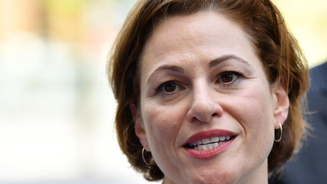 Queensland Deputy Premier and Treasurer, Jackie Trad. IMAGE: Darren England