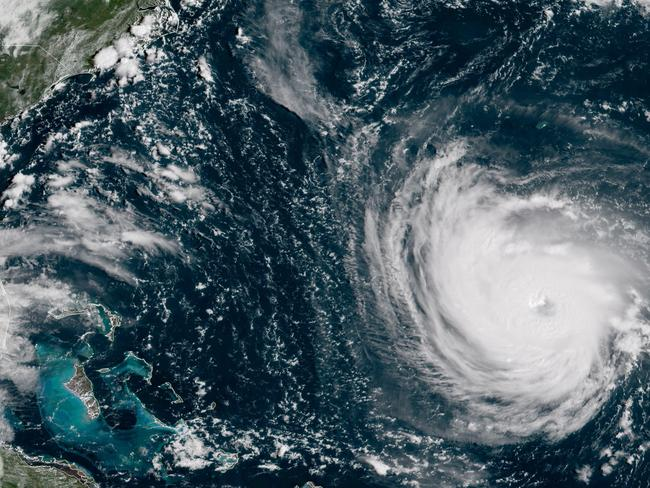 Millions of Americans are preparing for what could be one of the most catastrophic hurricanes to hit the Eastern Seaboard in decades. Picture: AP
