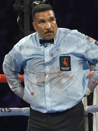 Referee Tony Weeks. Picture: David Becker/Getty Images/AFP