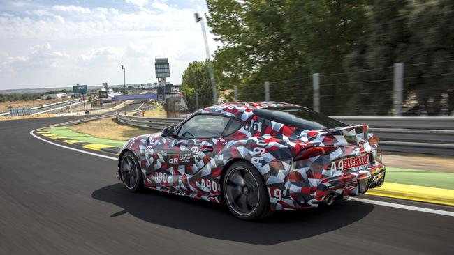 The new Toyota Supra is mechanically identical to the BMW Z4.