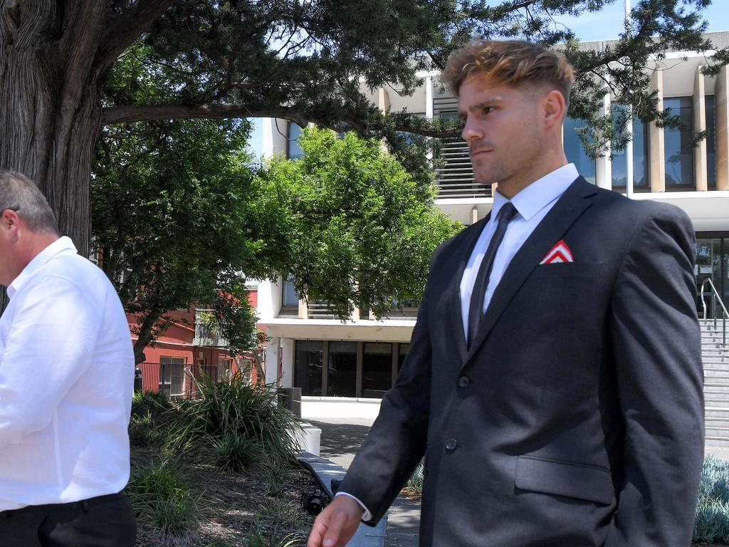 Jack de Belin has been charged with five counts of aggravated sexual assault. Picture: NCA NewsWire / Simon Bullard.