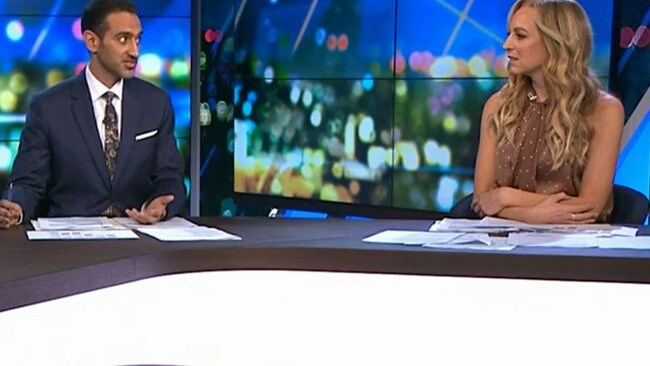 """Waleed implored Carrie to simply """"not do"""" things she wasn't sure about. Picture: Channel 10."""