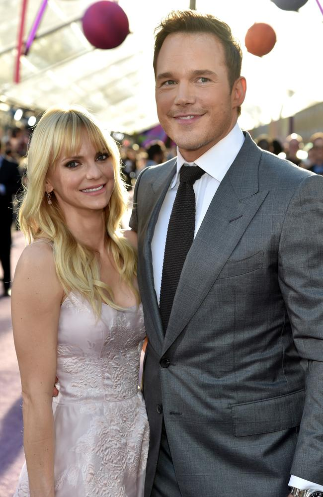Anna Faris and Chris Pratt were married for nine year. Picture: Frazer Harrison/Getty Images