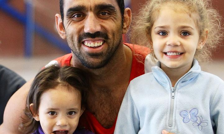 Boo Adam Goodes and you're teaching your kids to bully