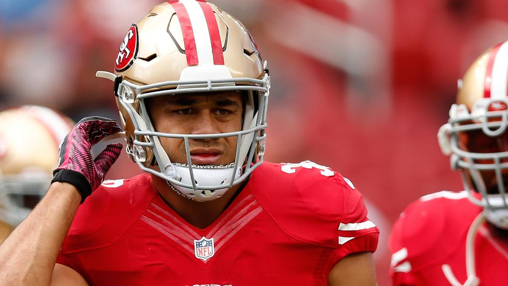 50cfbb249 Jarryd Hayne will get a cut of personalised merchandise sold by the 49ers.