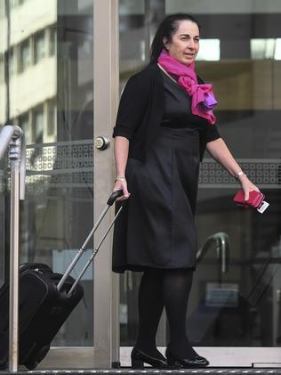 Prosecutor Carmel Barbagallo. Picture: Iain Gillespie.