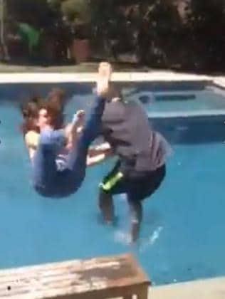 ... and dunked!