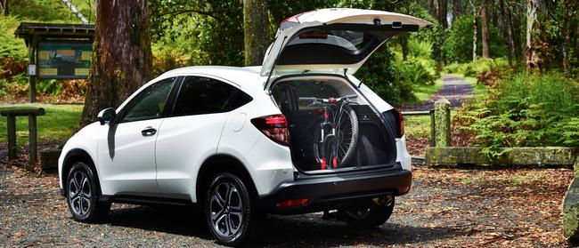 Flexible: HR-V's Magic Seats arrangement fits all sorts of luggage and chattels