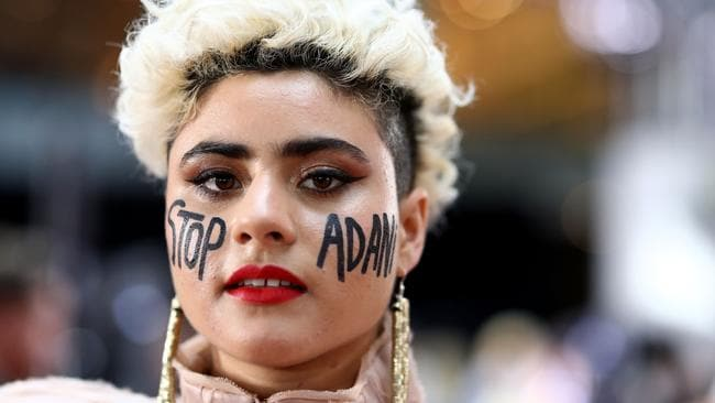 She's a woman with a message. Picture: Ryan Pierse/Getty Images