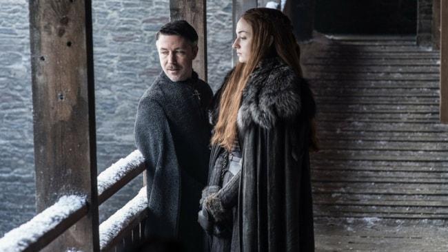 Littlefinger and Sansa. Photo: HBO