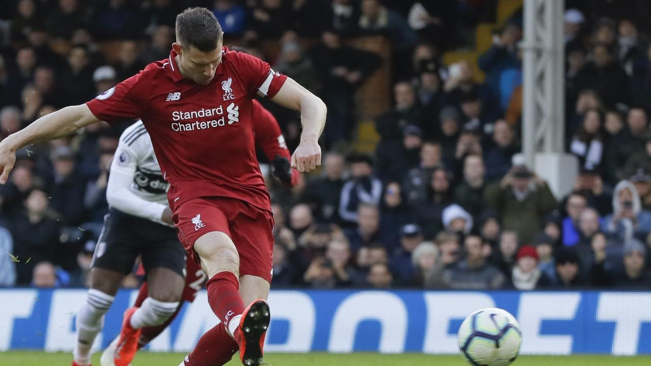 Milner converted from the spot to secure all three points.