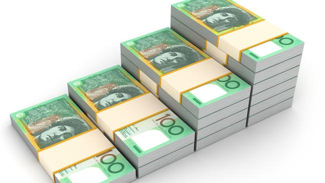 Some 300 million $100 notes have been produced but the vast majority aren't in circulation. Picture: Supplied