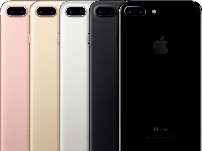 The iPhone 7 Plus with a twin lens cameras comes in rose gold, gold, silver, black and jet black.