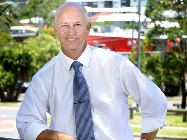 Steve Minnikin won Chatsworth in the 2015 State election. Picture: Renae Droop