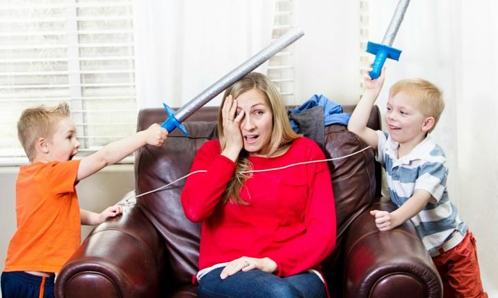 The painful truth about parenting... it hurts!