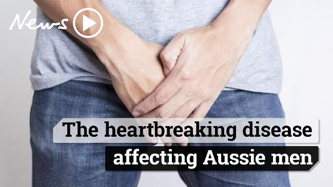 The heartbreaking disease affecting Aussie men