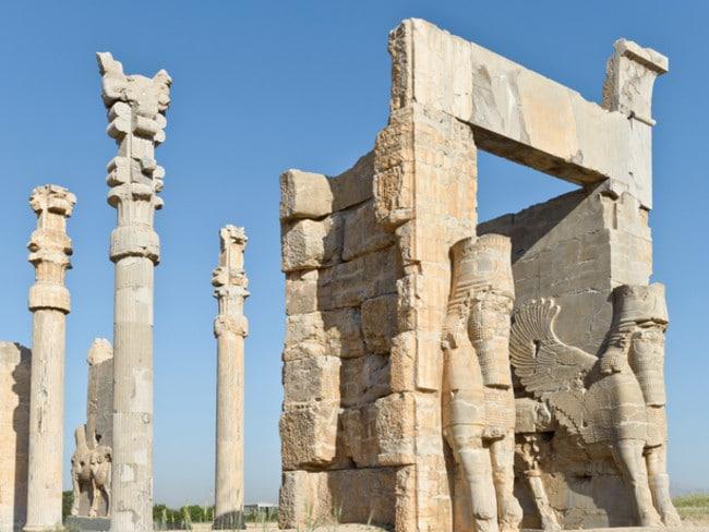 Ancient city of Perspolis, Iran.