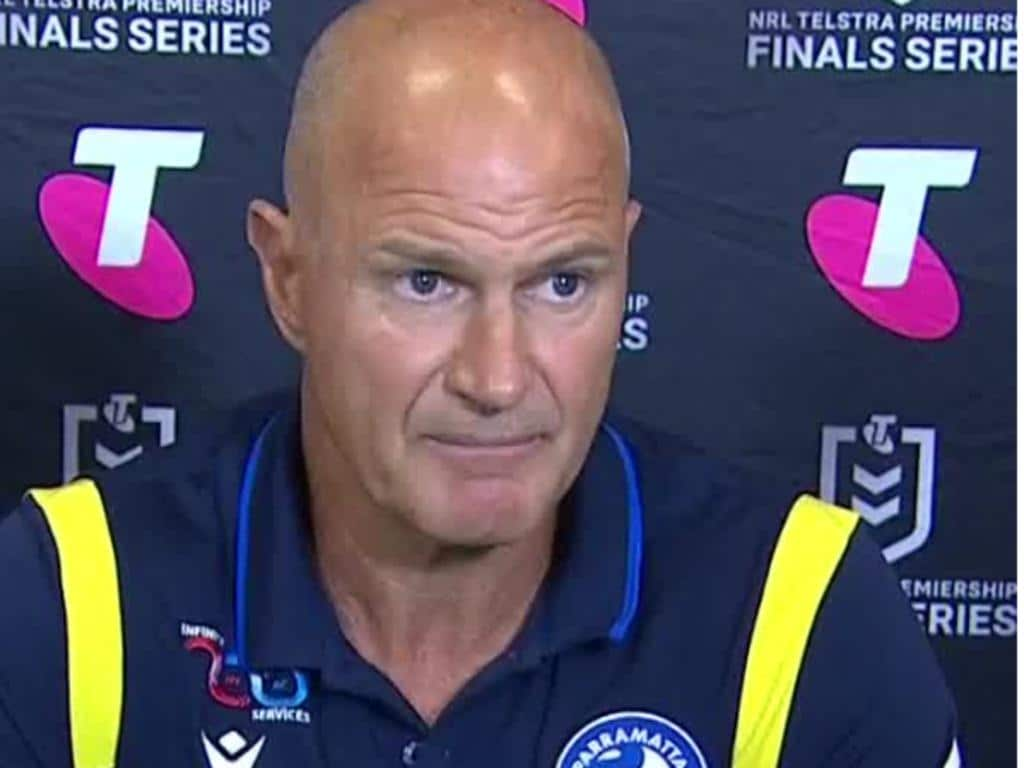 Brad Arthur and Nathan Cleary