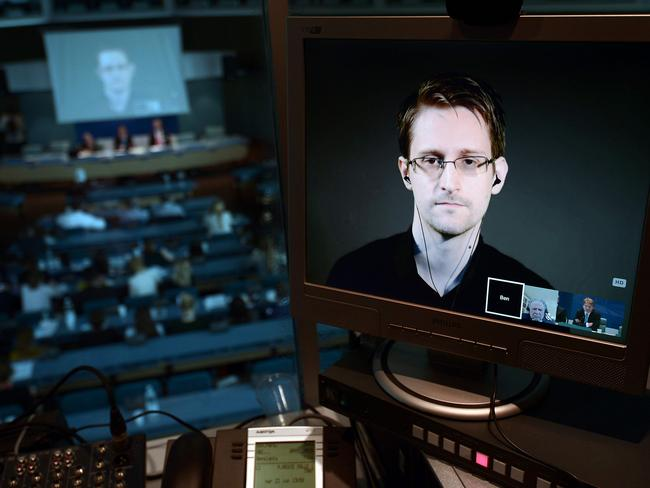 Former NSA intelligence contractor Edward Snowden revealed the real story behind the building. Picture: AFP/Frederick Florin