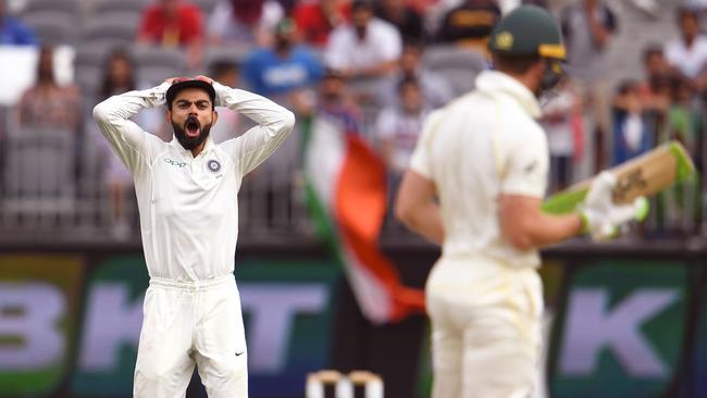 Australia vs India second Test: Tim Paine and Virat Kohli sledge | Optus Stadium, Perth - NEWS.com.au image