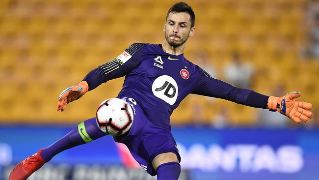 Lopar's signing puts more pressure on Wanderers keeper Vedran Janjetovic. Picture: Getty Images