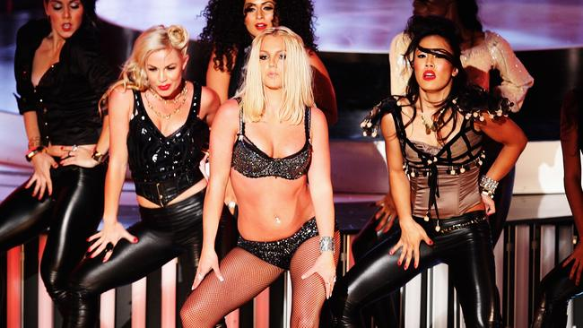 It was meant to be her big comeback — but Britney's VMAs opener was largely derided. Picture: Jason Squires