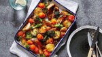 Balsamic Glazed Chicken Vegetable Bake. Image: Supplied