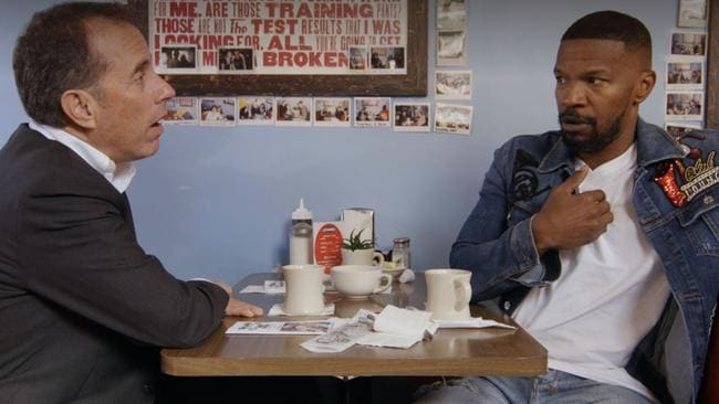 Jamie Foxx on Comedians in Cars Getting Coffee.