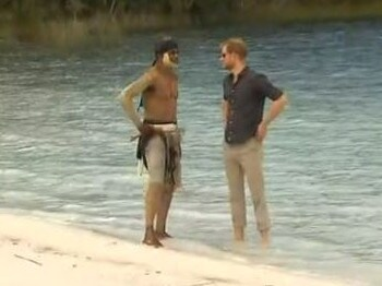 Harry spoke to Aboriginal people who own the land.