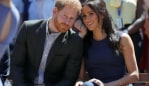 Harry and Meghan watching a dance at Macarthur Girls High School. Picture: Phil NobleSource:Getty Images