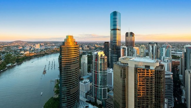 Sarina Russo has listed her Brisbane CBD apartment for rent.