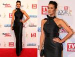 Megan Gale on the red carpet at the 2015 Logie Awards at Crown Casino in Melbourne. Picture: Julie Kiriacoudis / Tim Carrafa