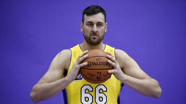 Andrew Bogut is done with travel and wants to settle down in Australia.