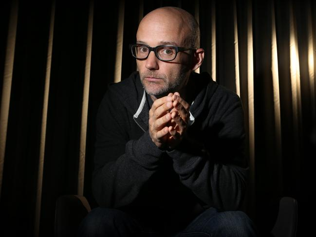 Moby has apologised to Natalie Portman. Picture: Chris Pavlich