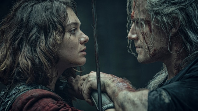 The fast-paced, highly technical fight coordination has been a huge highlight. Image: Netflix The Witcher