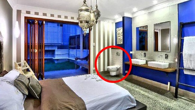 Bathroom And Toilet Inside The Bedroom: The Worst Home