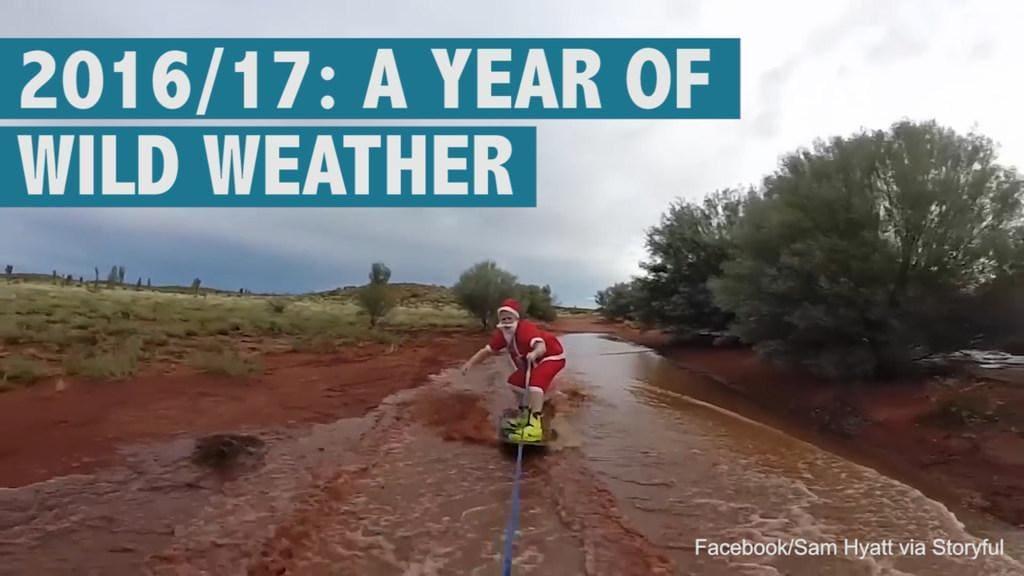 2016/17: Australia's year of wild weather